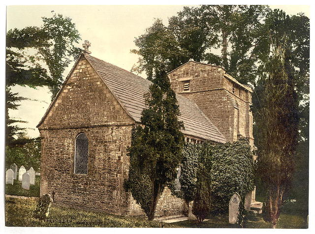 [Studland Church, Swanage [i.e. Studland], England]