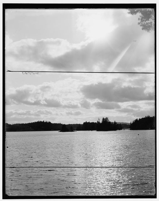 [Sunset from Sunset Camp, Raquette Lake, Adirondack Mts., N.Y.]