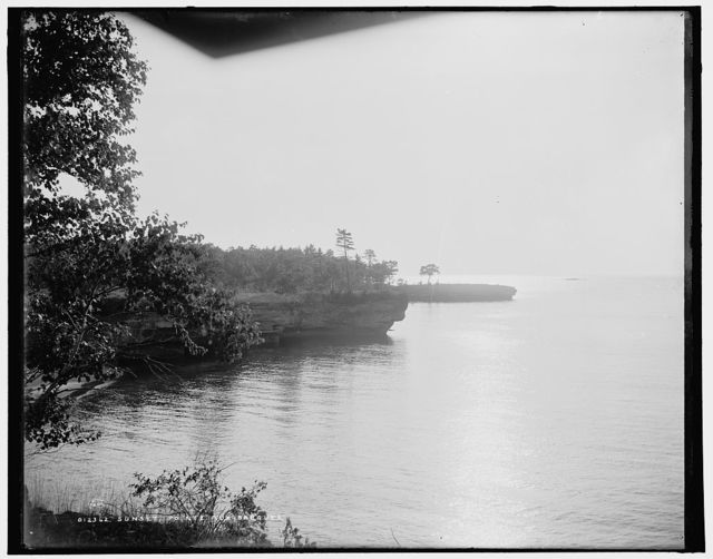 Sunset, Pointe aux Barques