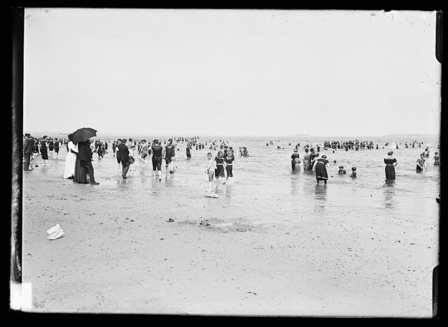 [Surf bathing, possibly Atlantic City, N.J.