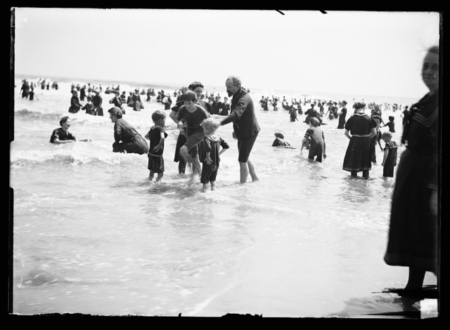 [Surf bathing, probably Atlantic City, N.J.]