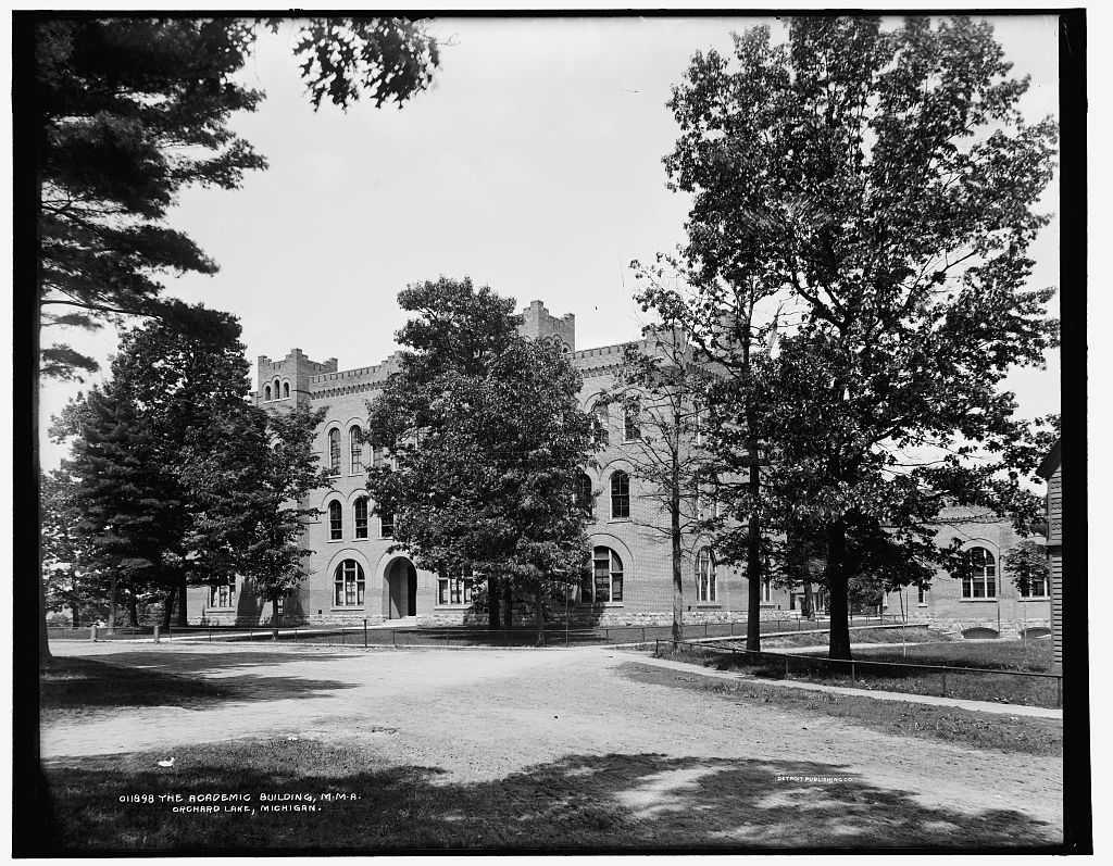 The Academic building, M.M.A., Orchard Lake, Michigan