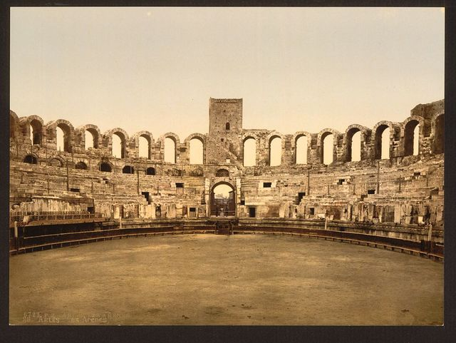 [The Arena, Arles, Provence, France]