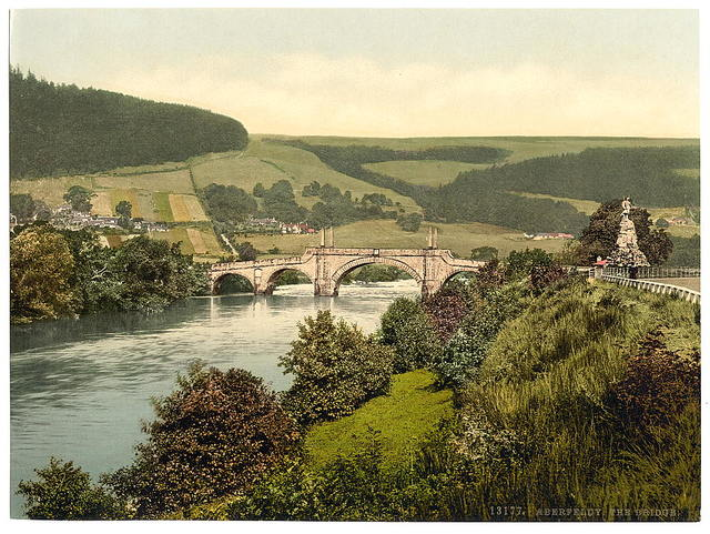 [The bridge, Aberfeldy, Scotland]