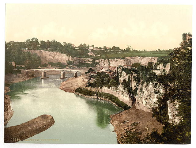 [The bridge, I, Chepstow, Wales]