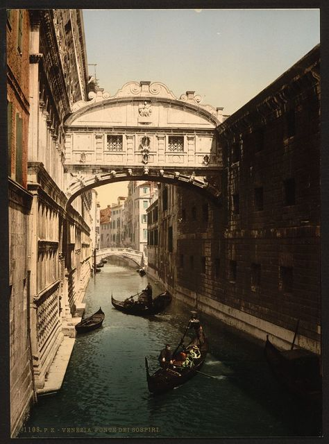 [The Bridge of Sighs, Venice, Italy]