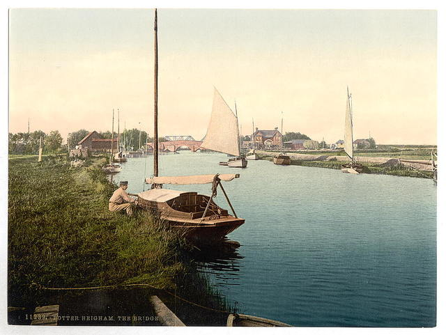 [The bridge, Potter Heigham, England]