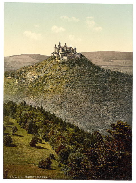 [The castle, Hohenzollern, Germany]