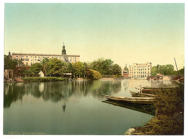[The Castle of Dessau, Anhalt, Germany]