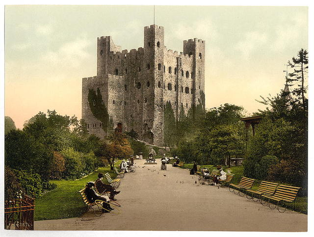 [The castle, Rochester, England]