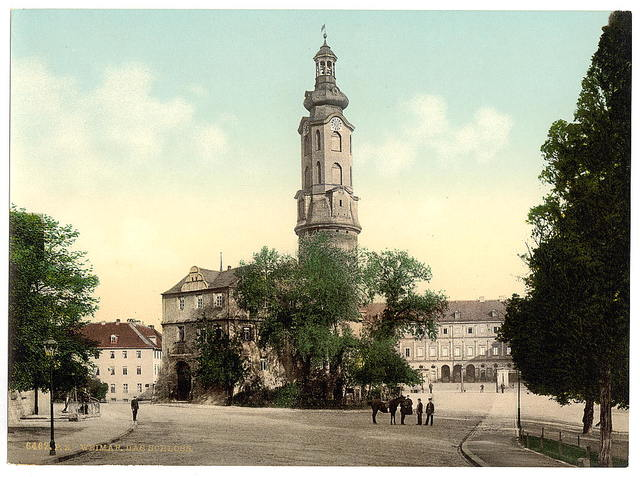 [The castle, Weimar, Thuringia, Germany]