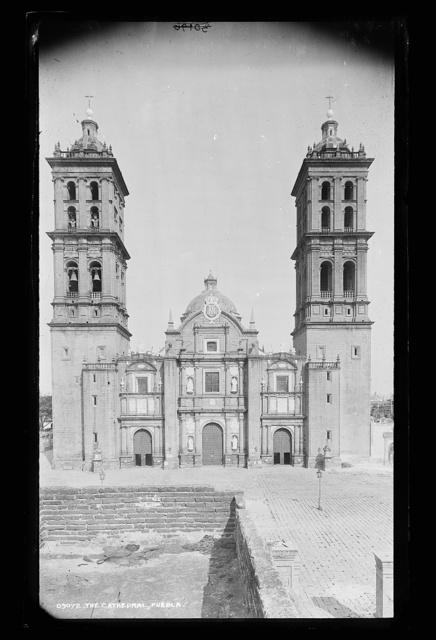 The cathedral, Puebla