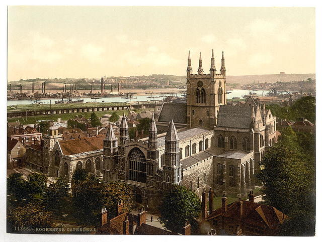 [The cathedral, Rochester, England]