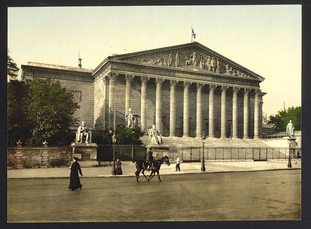 [The Chamber of Deputies, Paris, France]