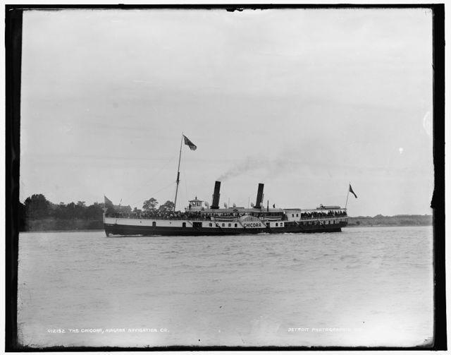 The Chicora, Niagara Navigation Co.