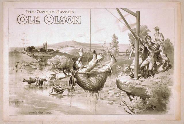The comedy novelty, Ole Olson