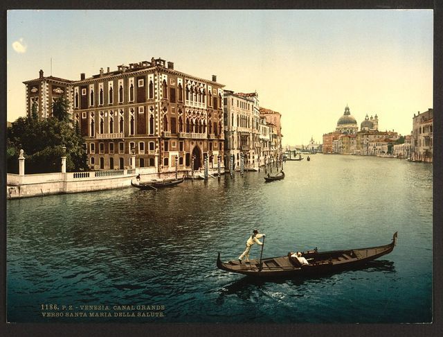 [The Grand Canal, view I, Venice, Italy]