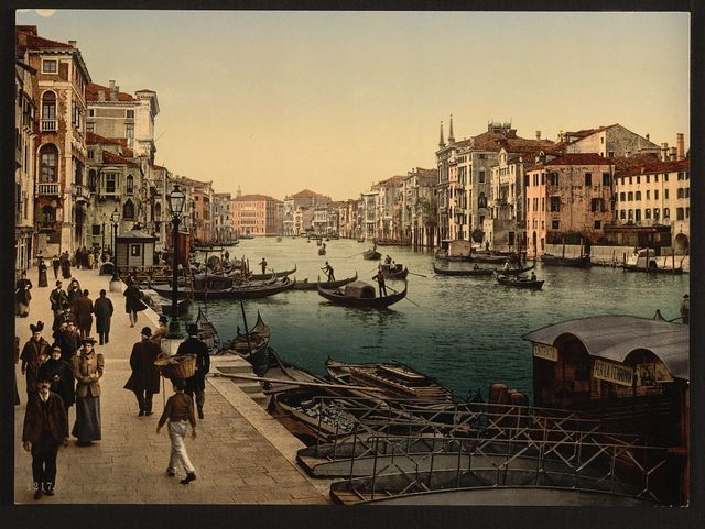 [The Grand Canal, view II, Venice, Italy]