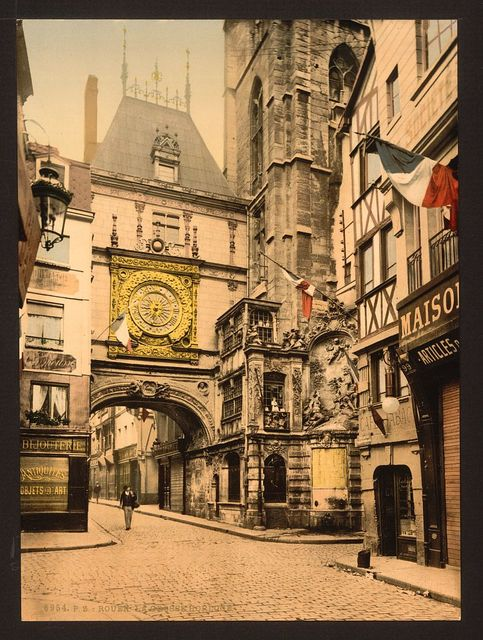 [The great clock, Rouen, France]