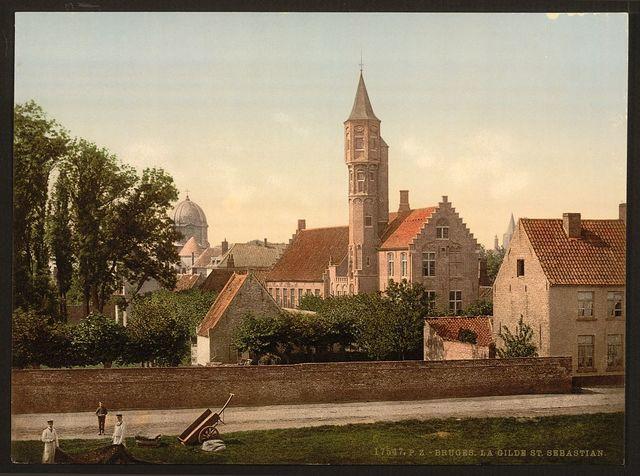 [The Guild of St. Sebastian, Bruges, Belgium]