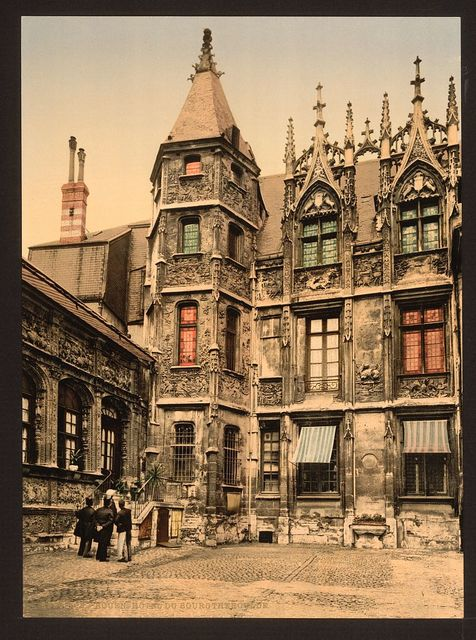 [The Hotel Bourgtheroulde, Rouen, France]
