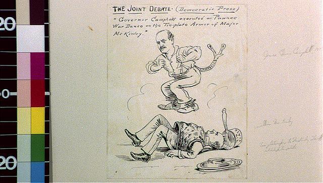 The joint debate (Democratic press)