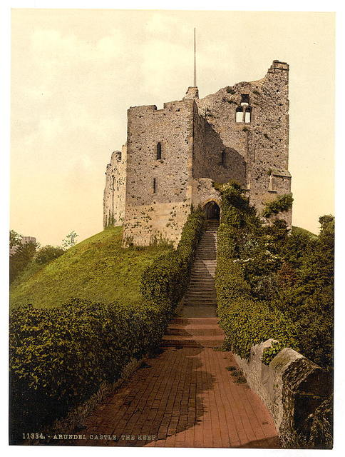 [The Keep, Arundel Castle, England]