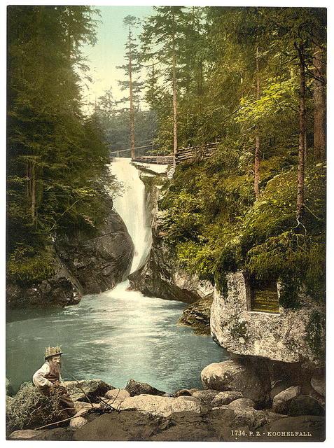 [The Kochelfall, Riesengebirge, Germany]