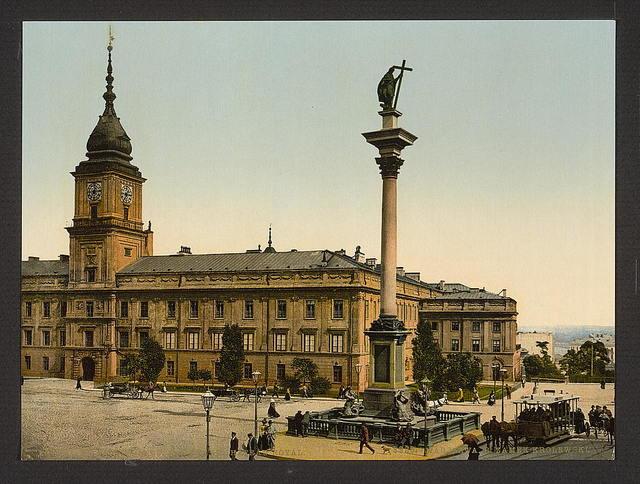 [The Late Royal Castle, Warsaw, Russia (i.e. Warsaw, Poland)]