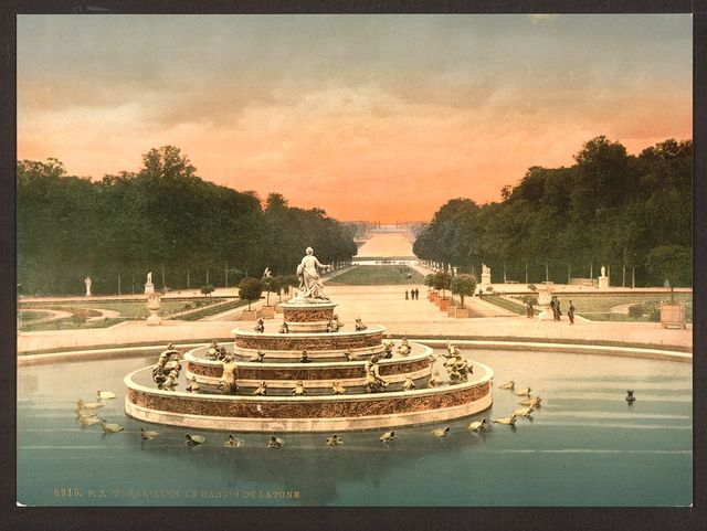 [The Latone Basin, I, Versailles, France]