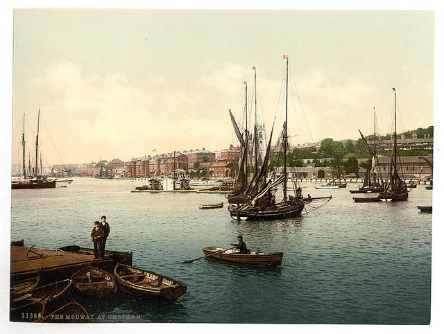 [The Medway, Chatham, England]