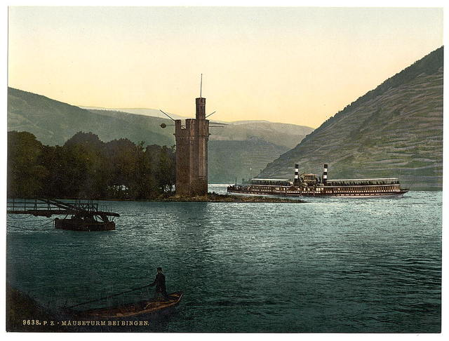 [The Mouse Tower, Bingen, the Rhine, Germany]