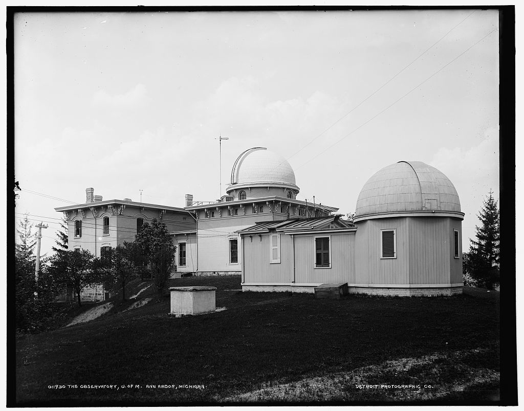 The Observatory, U. of M., Ann Arbor, Michigan
