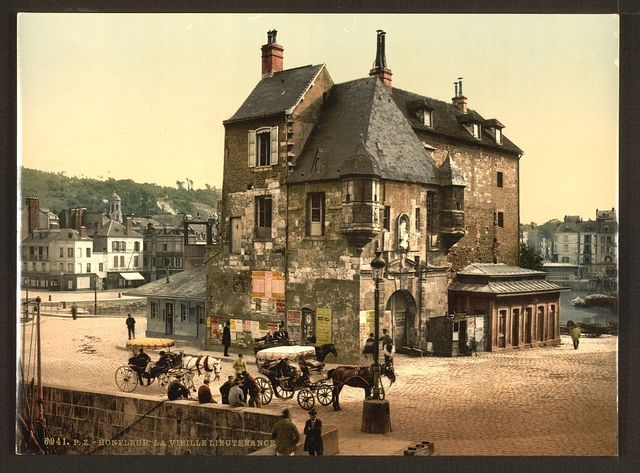 [The Old Lieutenancy, Honfleur, France]