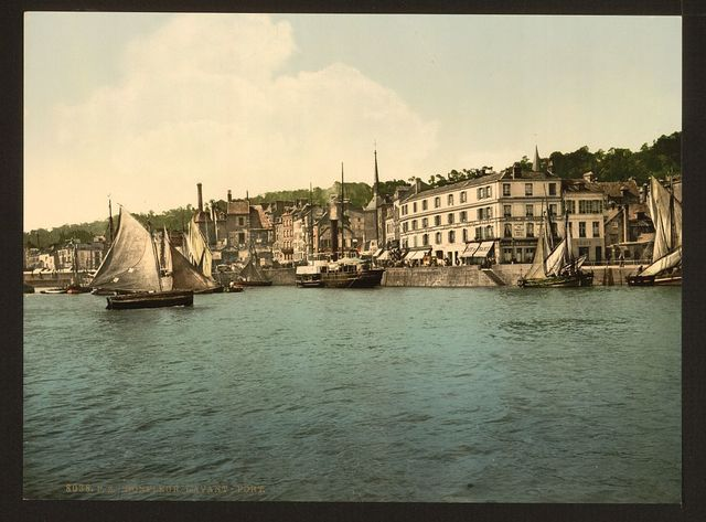 [The outer port, Honfleur, France]