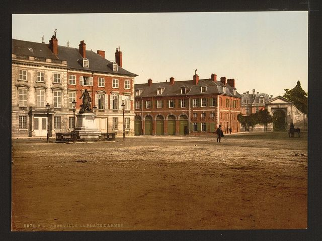 [The Palace of Arms, Abbeville, France]
