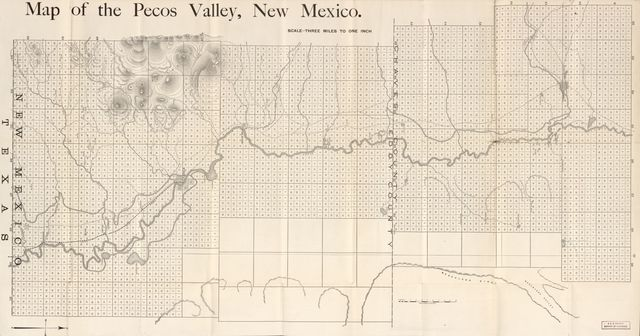 The Pecos Valley : the Fruit Belt of New Mexico, with map showing irrigating canals, etc. /