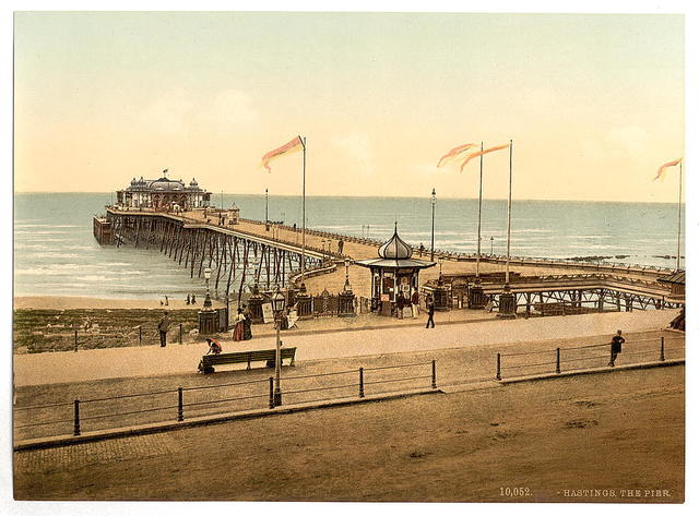 [The pier, Hastings, England]