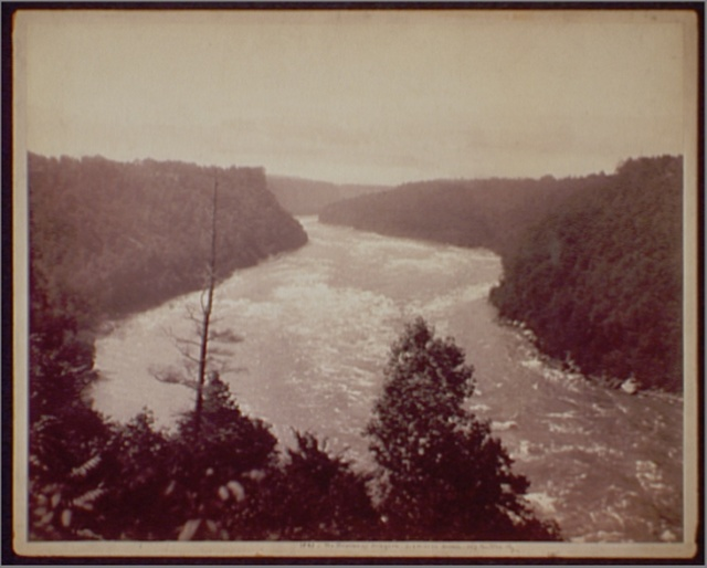 The Rapids of Niagara, Lewiston Branch, N.Y. Central Ry.