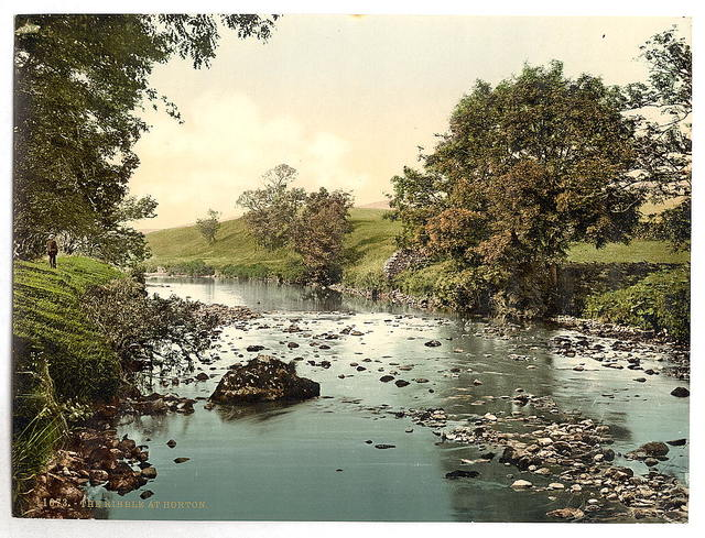 [The Ribble at Horton, Yorkshire, England]