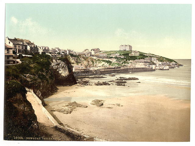[The Sands, Newquay, Cornwall, England]