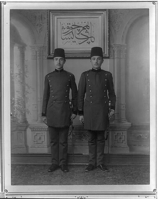 [The students of the Imperial Military Medical School] / fotoğraf Föbus.