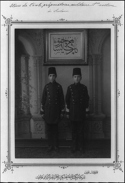 [The students of the Imperial Military Middle School in Üsküdar] / fotoğraf Föbus.