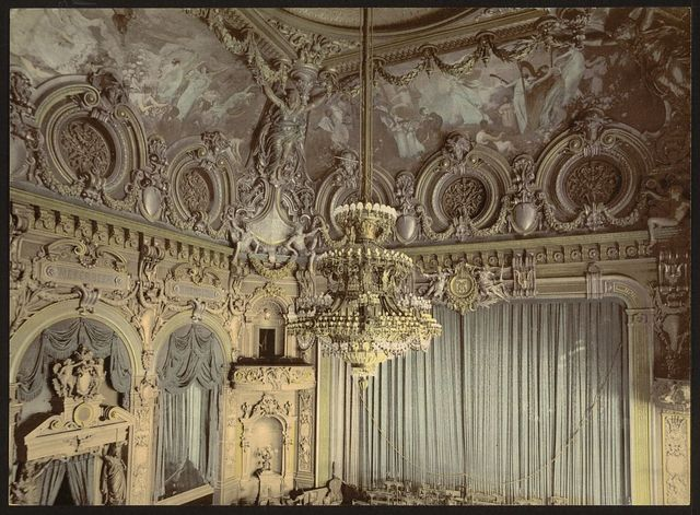 [The theatre, interior, Monte Carlo, Riviera]