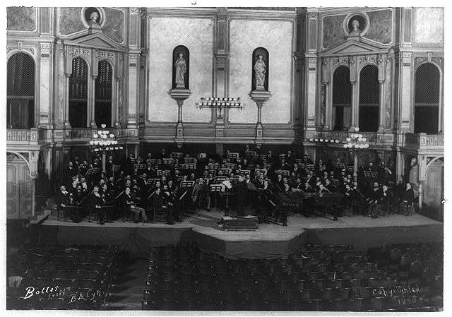 Theodore Thomas and his orchestra at Steinway Hall, N.Y. / Bolles, fecit., Bklyn.