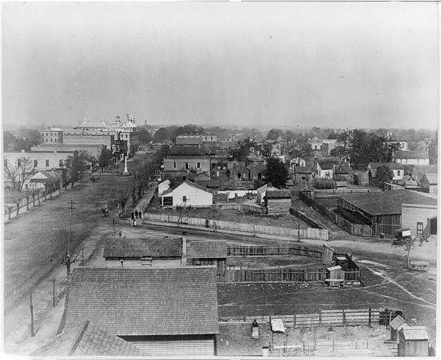 [Thomasville, Georgia, looking down Main St. from Piney Woods Hotel]