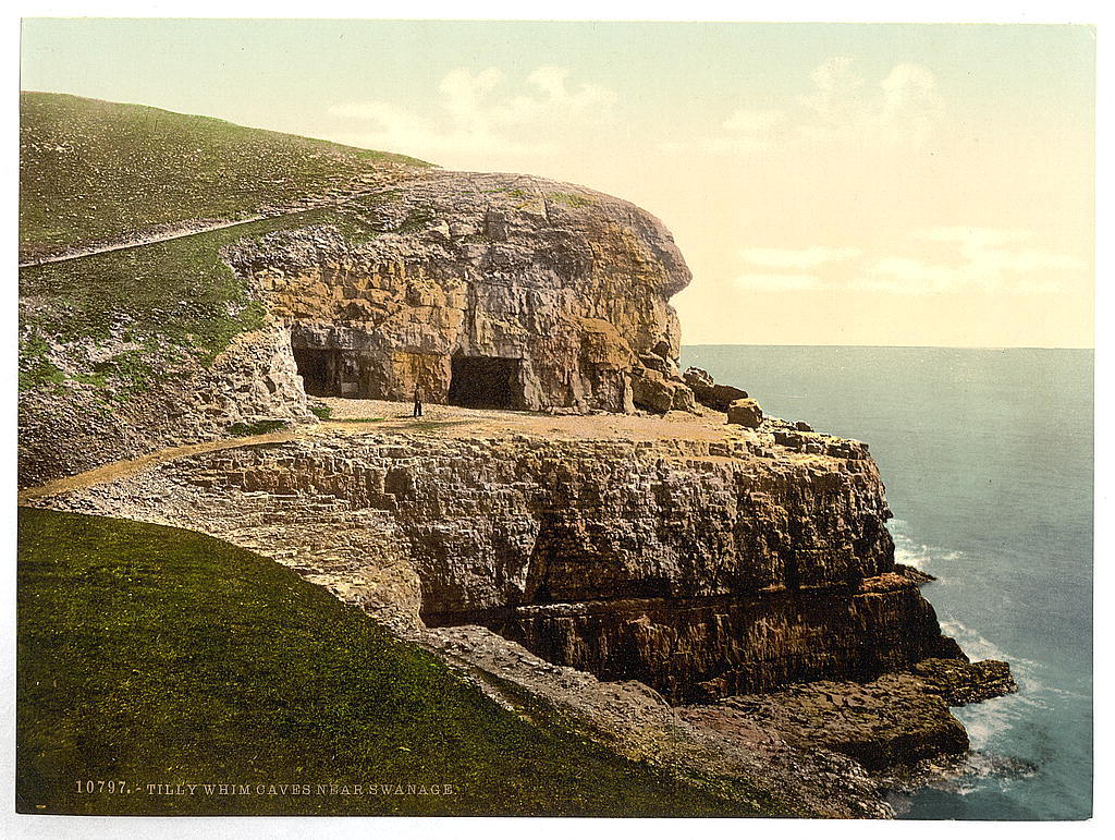 [Tilly Whim Caves, Swanage, England]