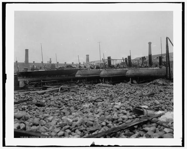 Torpedo boats at Brooklyn Navy Yard