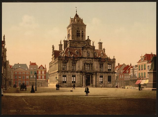 [Town hall (Stadthuis), Delft, Holland]