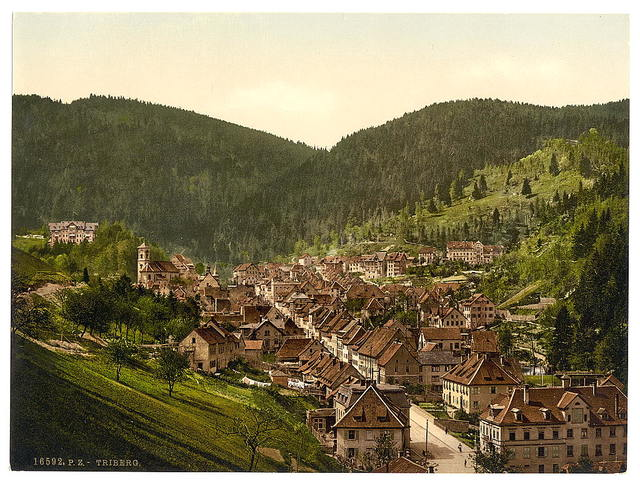 [Treiberg, general view, Black Forest, Baden, Germany]